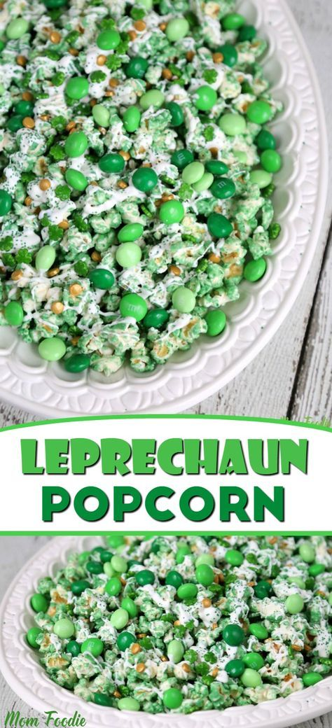 Leprechaun Popcorn – St Patricks Day Food