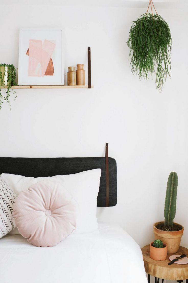 DIY Ikea Hack Hanging Cushion Headboard 1