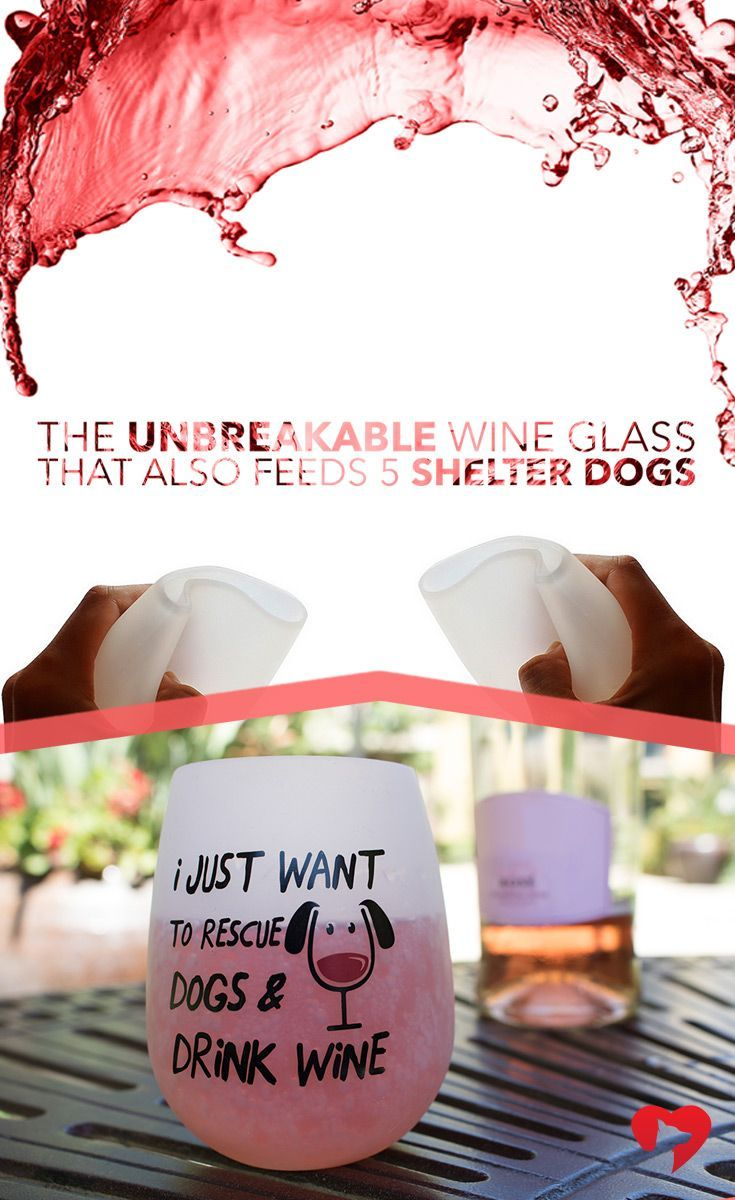 These durable, food grade silicone glasses fold down to make the ultimate portable wine glass! No more worrying about glass or