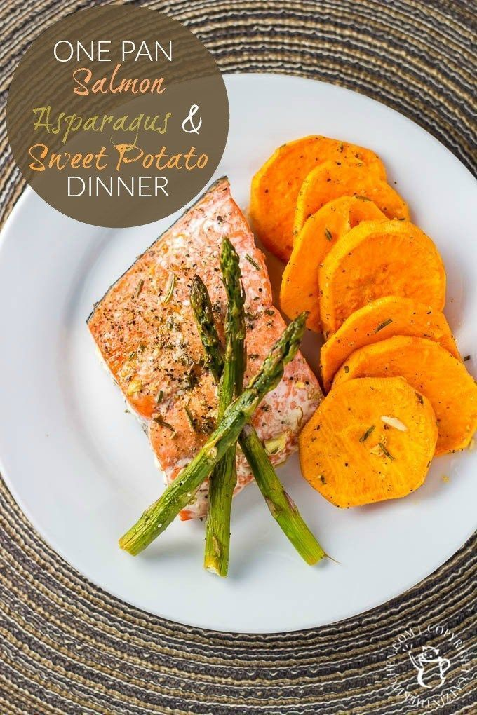 Salmon is so good for you and it's a wonderful addition to your weekly or monthly dinner menu. Side it with a sweet potato and