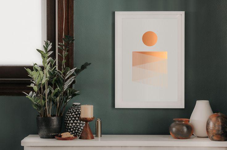 Night Falls Poster (White) – Studio MPLS | A Branding & Packaging Design Agency | Minneapolis, MN