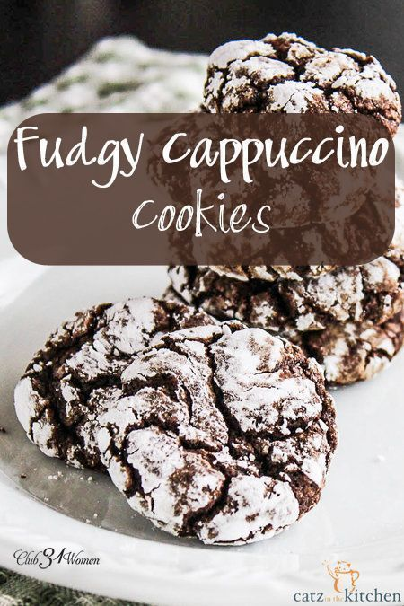 Who doesnt enjoy a chocolatey cookie? (Yes, its a real word – I looked it up!) Then the added espresso makes them extra special!