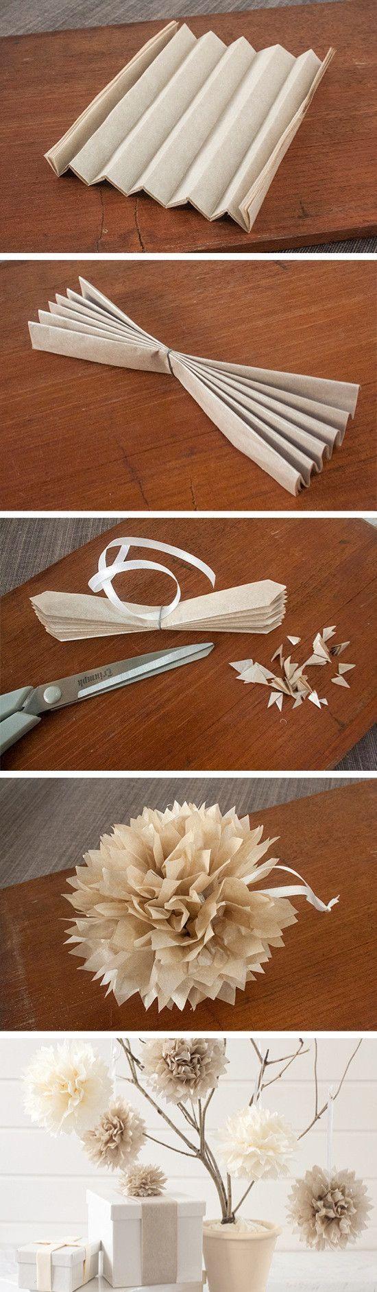 Top 5 DIY Tissue Paper Pom Poms
