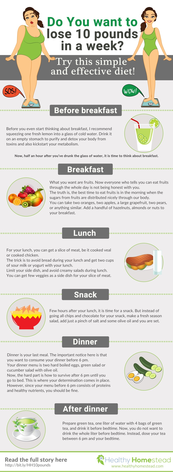 Do You want to lose 10 pounds in a week? Try this simple and effective diet!  @ReTweetNGro