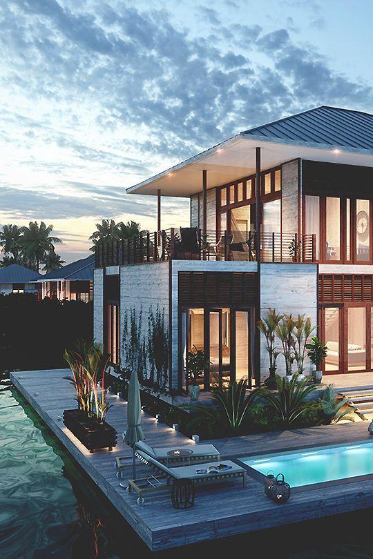 Design perfect house Malibu beach architecture smooth