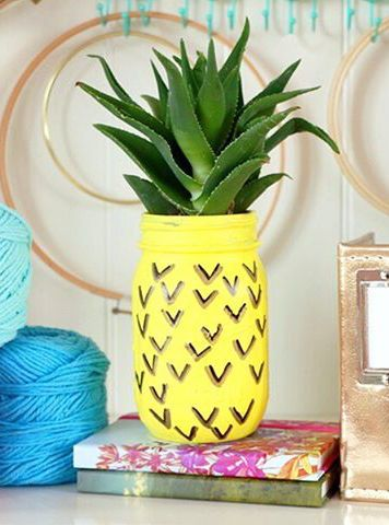 a cute and fun way to have plants around your home