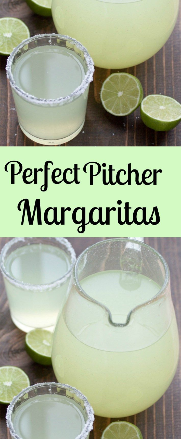 Perfect Pitcher Margarita recipe for a crowd. All you need is fresh lime juice, triple sec, and tequila. These make the best party