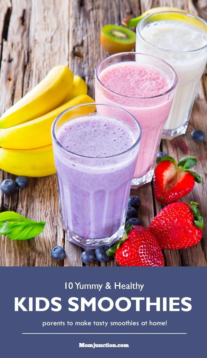 Smoothie Recipes for Kids : Smoothies are just great, as they are so refreshing, loaded with the benefits of vitamins and