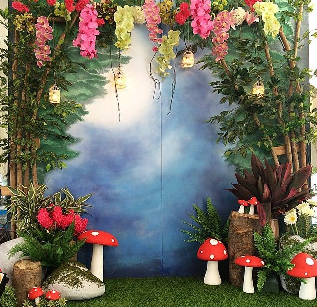 Tinkerbell theme photo booth