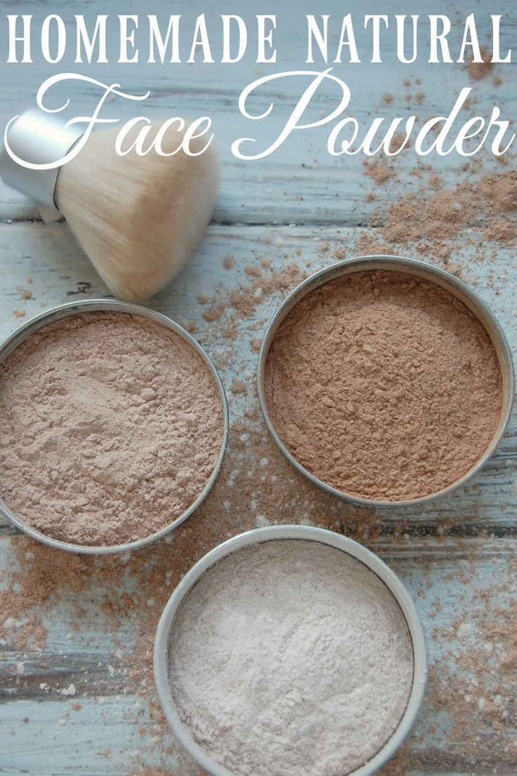 Homemade Natural Face Powder – Just three ingredients and suddenly youve made your own face powder for practically pennies!