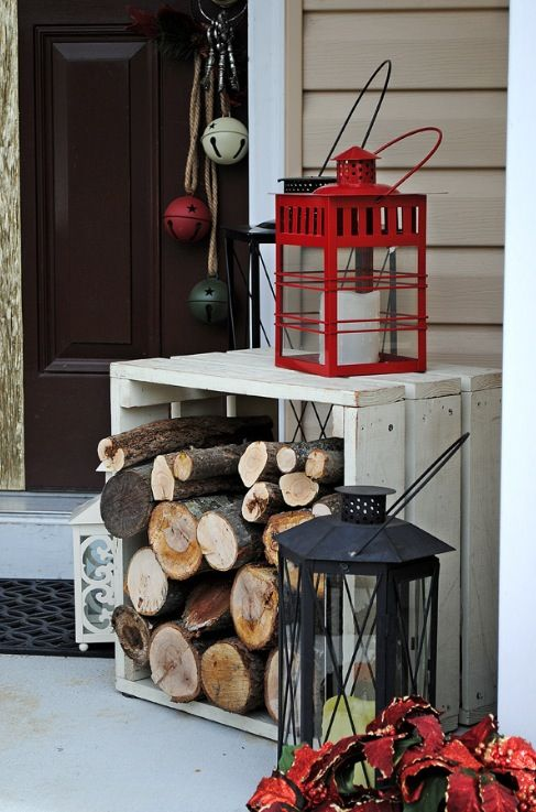 A Whole Bunch Of Christmas Entry and PorchIdeas
