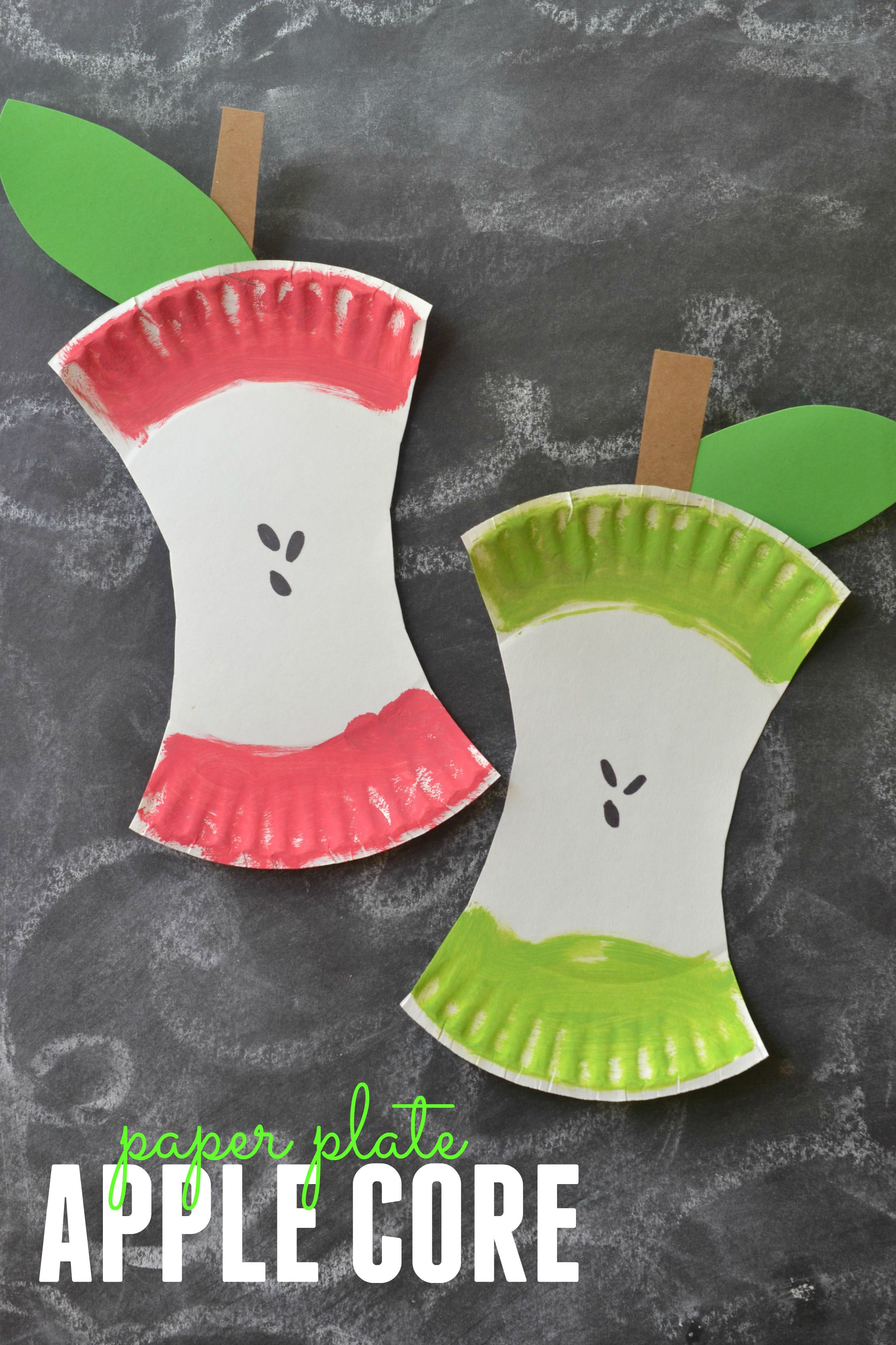 This easy kids craft project is perfect for back-to-school or fall decor! Learn how and get everything you need to make this paper
