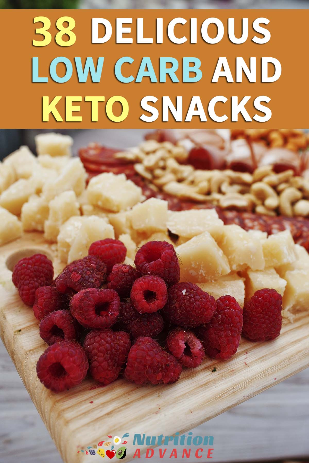 38 Delicious Low Carb and Keto Snacks – Looking for inspiration? Then here's a list of 38 delicious keto snacks, recipes, foods,