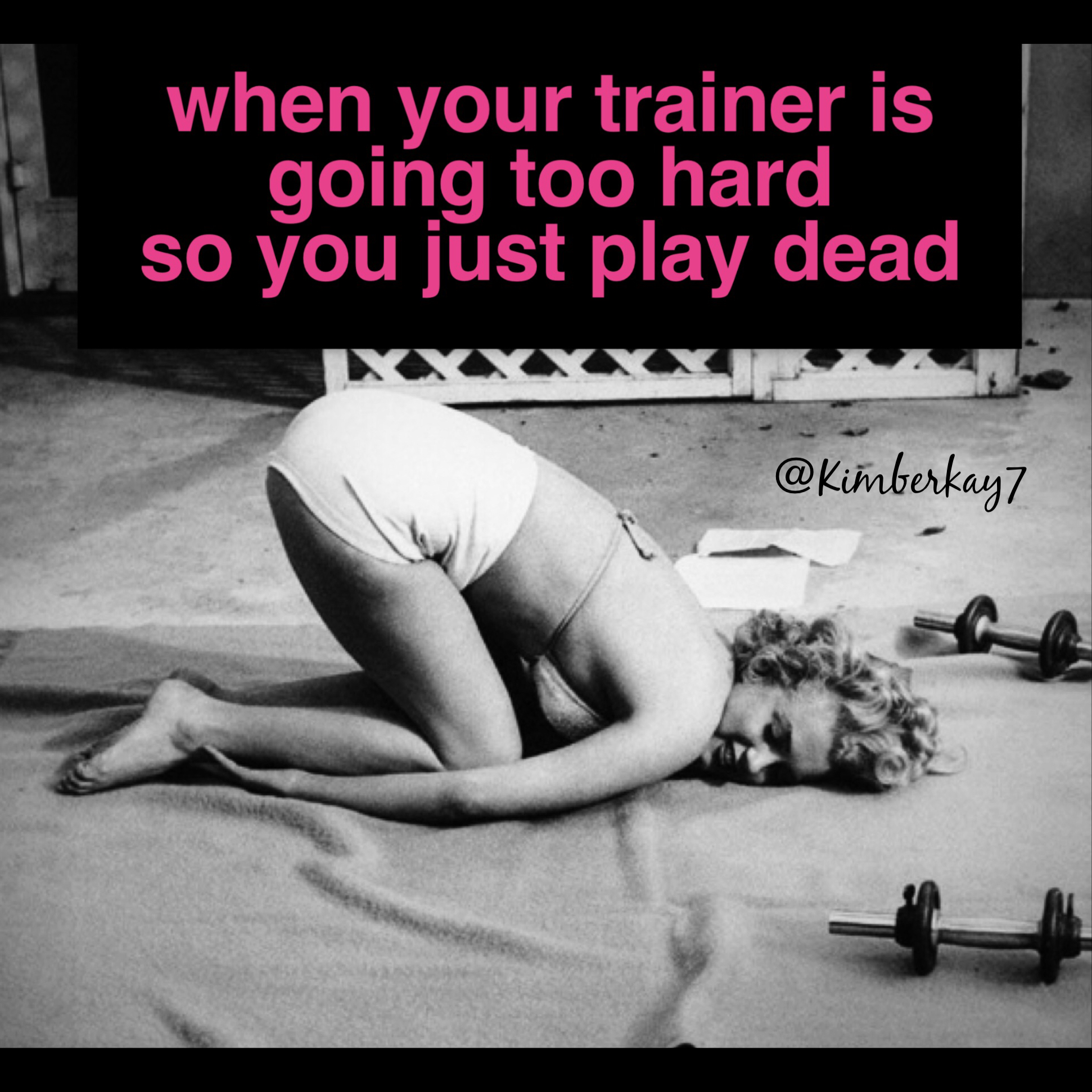 Like after being drilled with press-ups #cross_fitness_funny