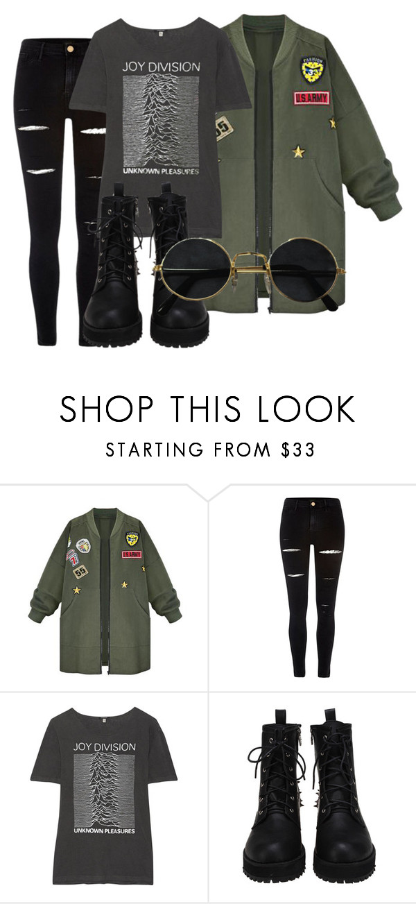 """""""style this trending item"""" by xcheerio-kierox ❤ liked on Polyvore featuring WithChic, River Island and R13"""