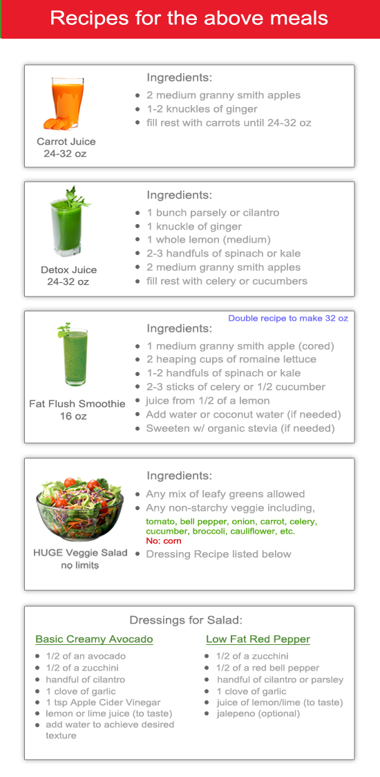 >>> UPDATE: READ BELOWFIRST > I have updated this 7-Day Detox. Please enter your email in the box at the top of the