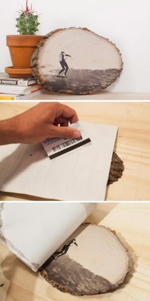 How to Transfer Ink to Wood.