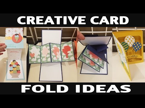 Stamping Jill – Creative Card Fold Ideas – YouTube