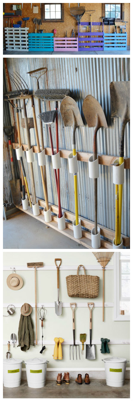 It's the mess in your garage ? now you're in the mood to get everything organized before winter in order to find your tools