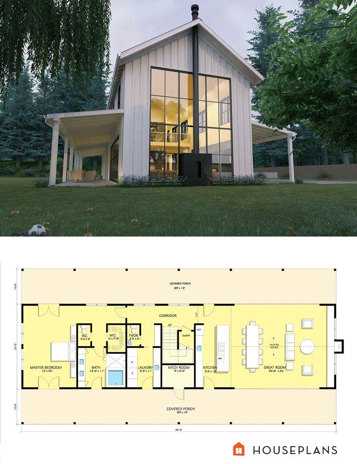 Farmhouse Style House Plan – 3 Beds 3.50 Baths 3374 Sq/Ft Plan #888-15