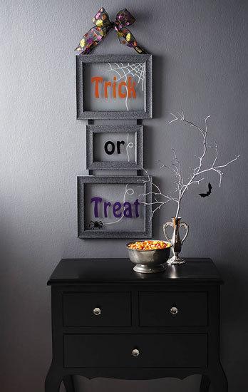 DIY Halloween Decor: Frightfully Fun Frames