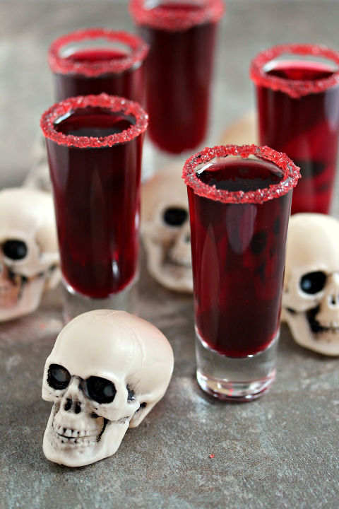 Calling all pop culture enthusiasts — this Walking Dead-themed drink is to die for. Plus, when you whip up this recipe with red