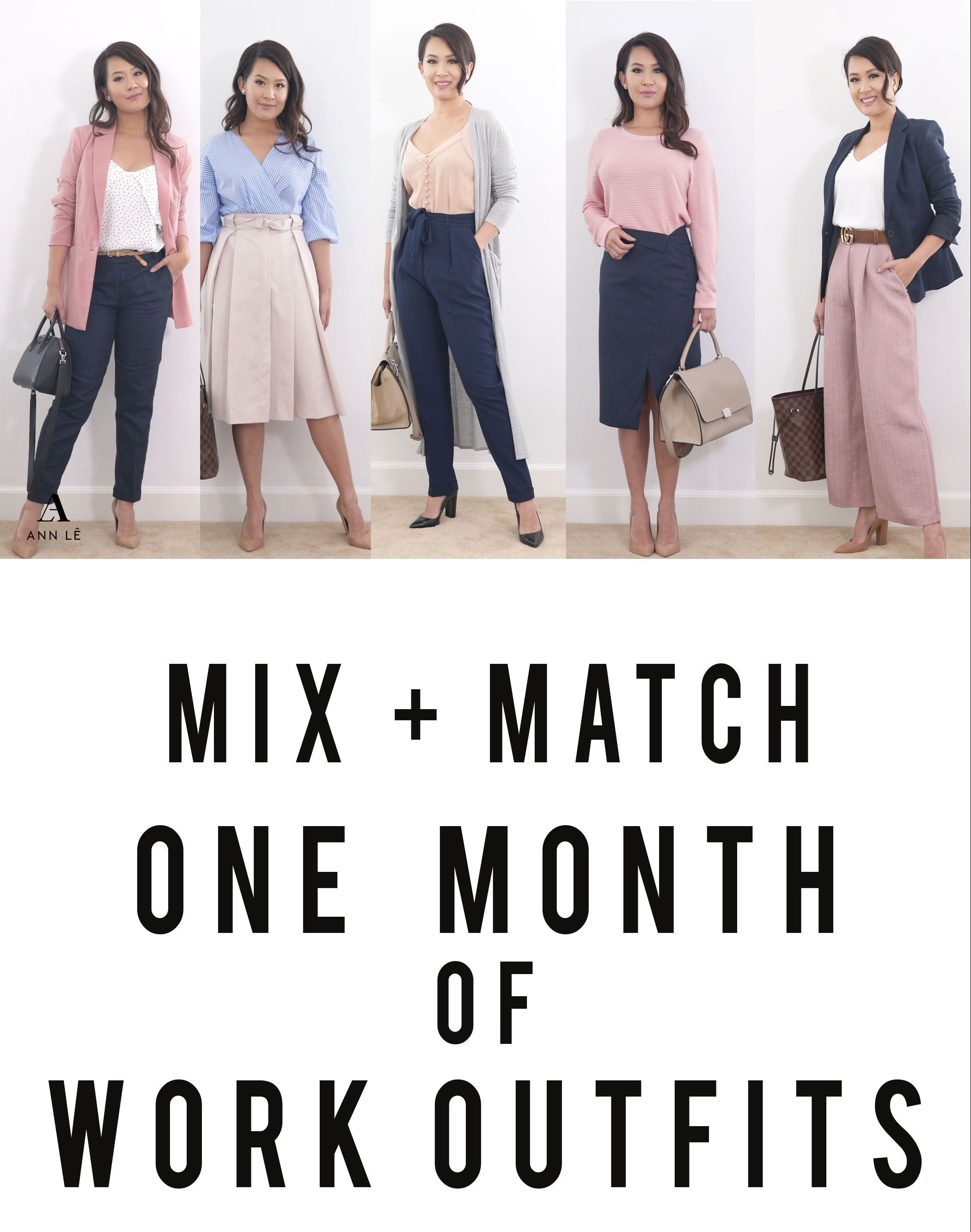 Monthly Work Outfit Ideas