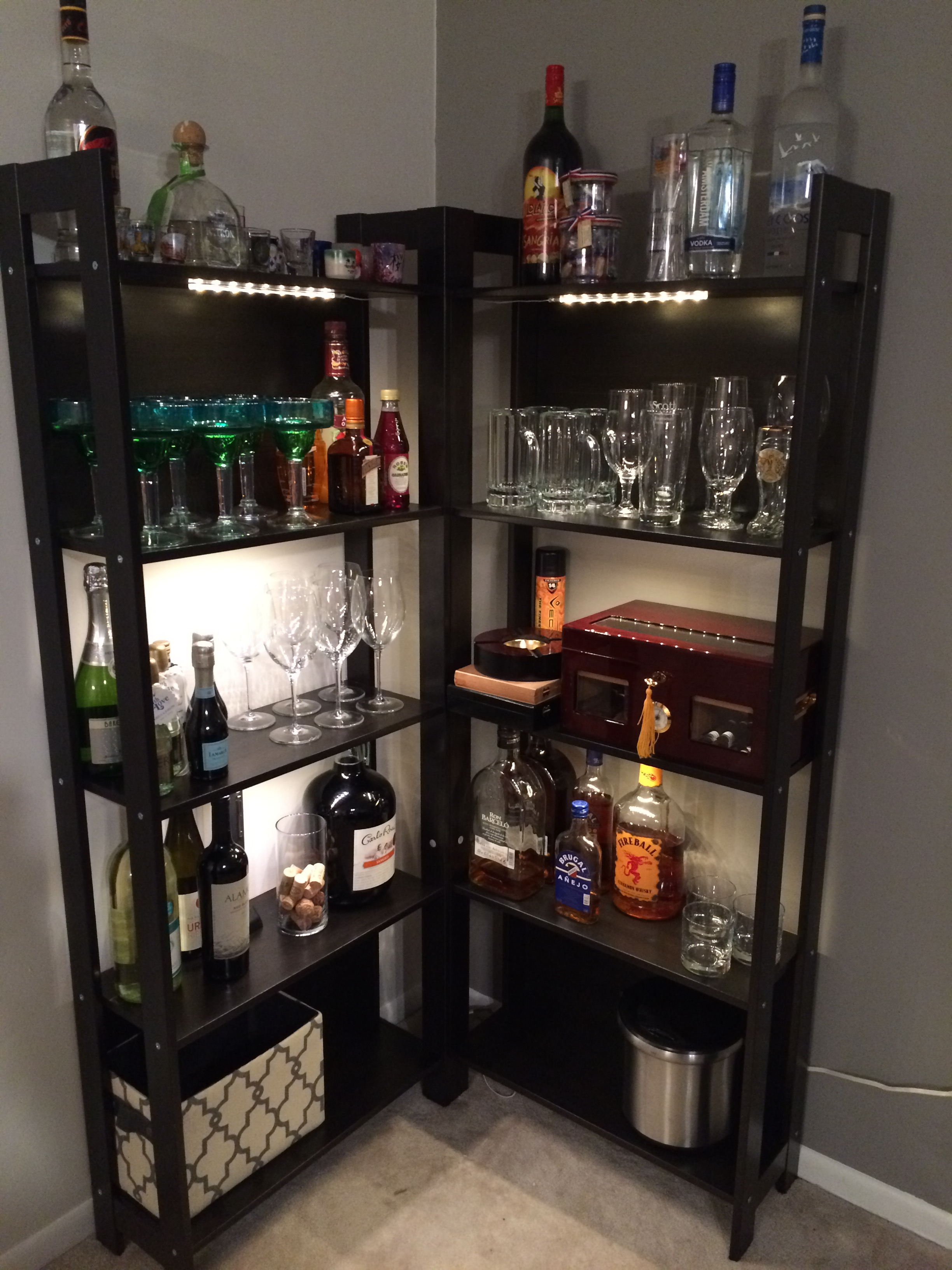 My DIY bar!