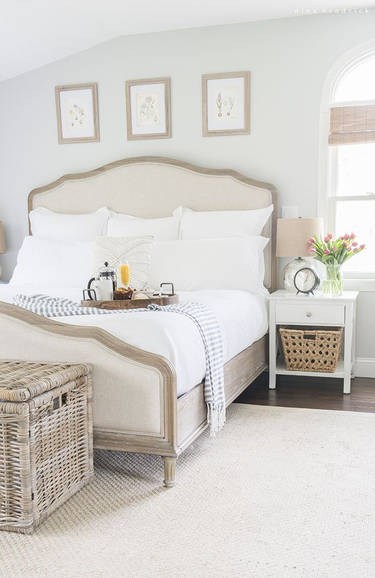 Master Bedroom Retreat & Breakfast in Bed | Gather Mother's Day inspiration from this master bedroom retreat makeover, fresh