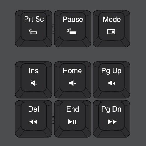 special keys - कंप्यूटर के इनपुट डिवाइस (Input Devices)