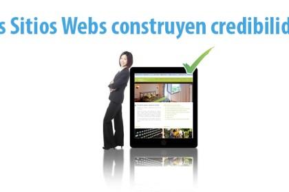 Los Sitios Webs construyen credibilidad