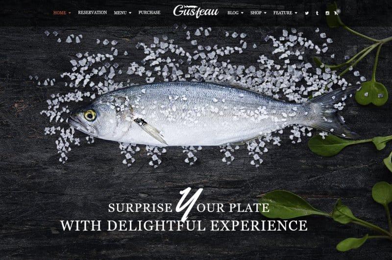 restaurant creative wordpress theme