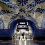 Cel mai frumos metrou din lume: metroul din Stockholm