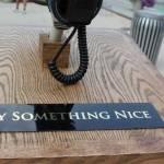 Spune ceva frumos