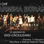 "Premiera absoluta: actorii Nationalului vor dansa in ""Carmina Burana"""