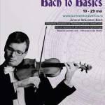 """Alexandru Tomescu se pregătește pentru Turneul Național Stradivarius """"Bach to Basics"""""""