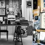 15 personalități culturale și spațiile lor de lucru