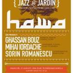 Lansare HAWA la Jazz du Jardin 4 în GrădinAcuarela