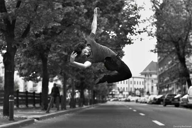 Dancing Bucharest - dansator: Attila Bordás.