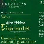 Seară japoneză la Librăria Humanitas