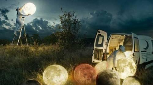 Lună și stele