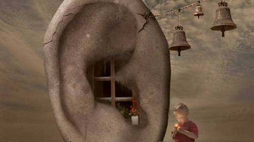 E liniște și zgomot…