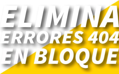 Eliminar errores 404 con extensión de Chrome