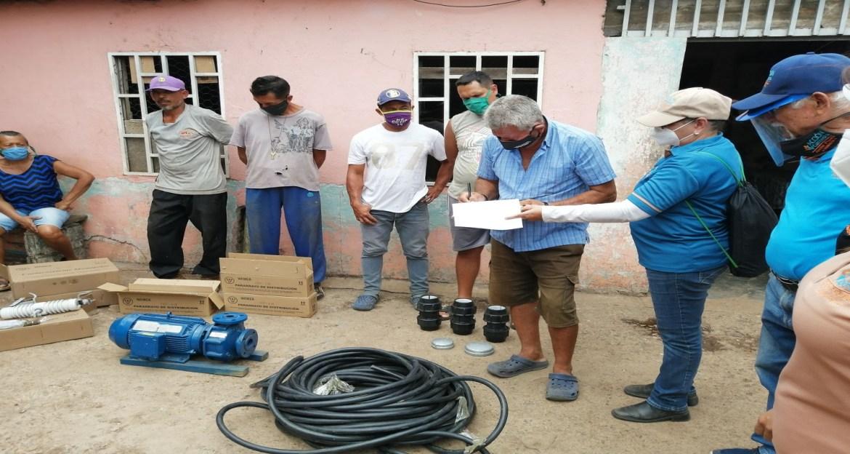 Acción Campesina dona equipos para acueducto de Arenita