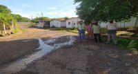 Desbordamiento de aguas servidas en Tricentenario II