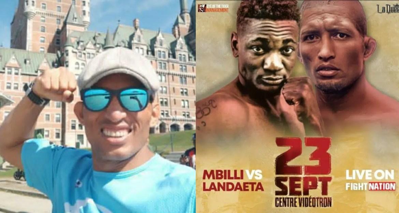"""Ronny """"El Llanero"""" Landaeta boxeador lezamense que combatirá en Canadá"""