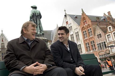 Brendan Gleeson e Colin Farrell são os assassinos escondidos em Bruges