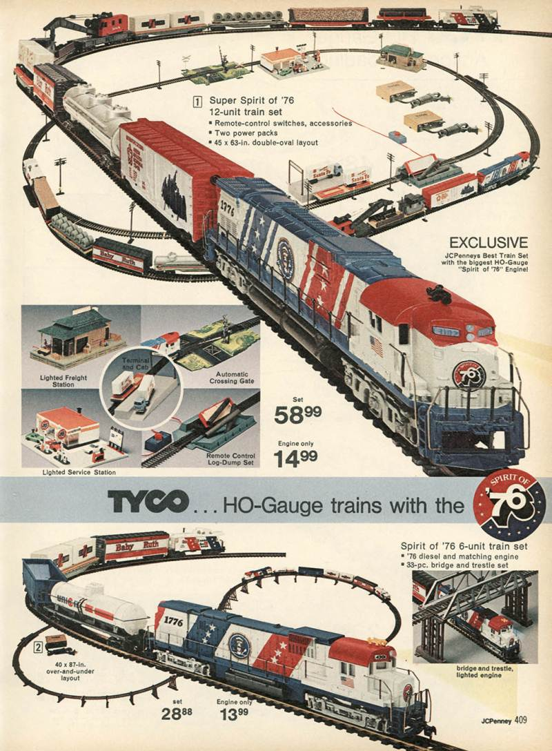 hight resolution of tyco ho trains