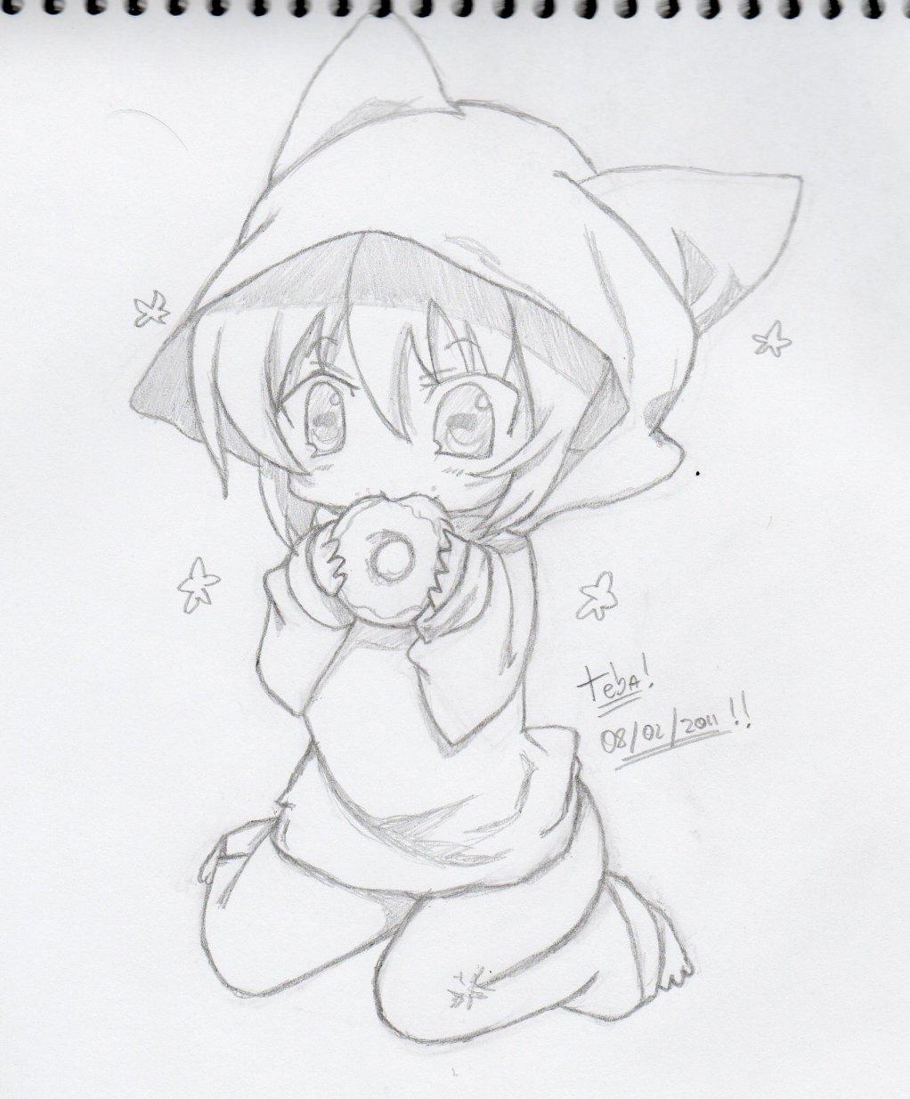 Dibujos De Ninos Imagenes De Anime Kawaii Para Pintar