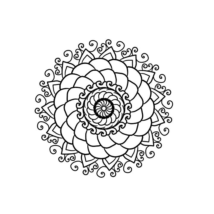 8 Imágenes de «Mandalas» 12 fáciles de Dibujar, Pintar y